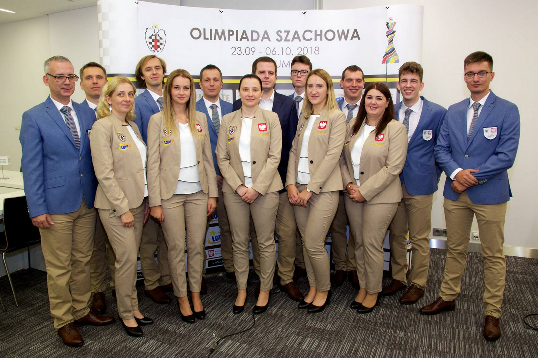 Polska na Olimpiadzie szachowej 2018