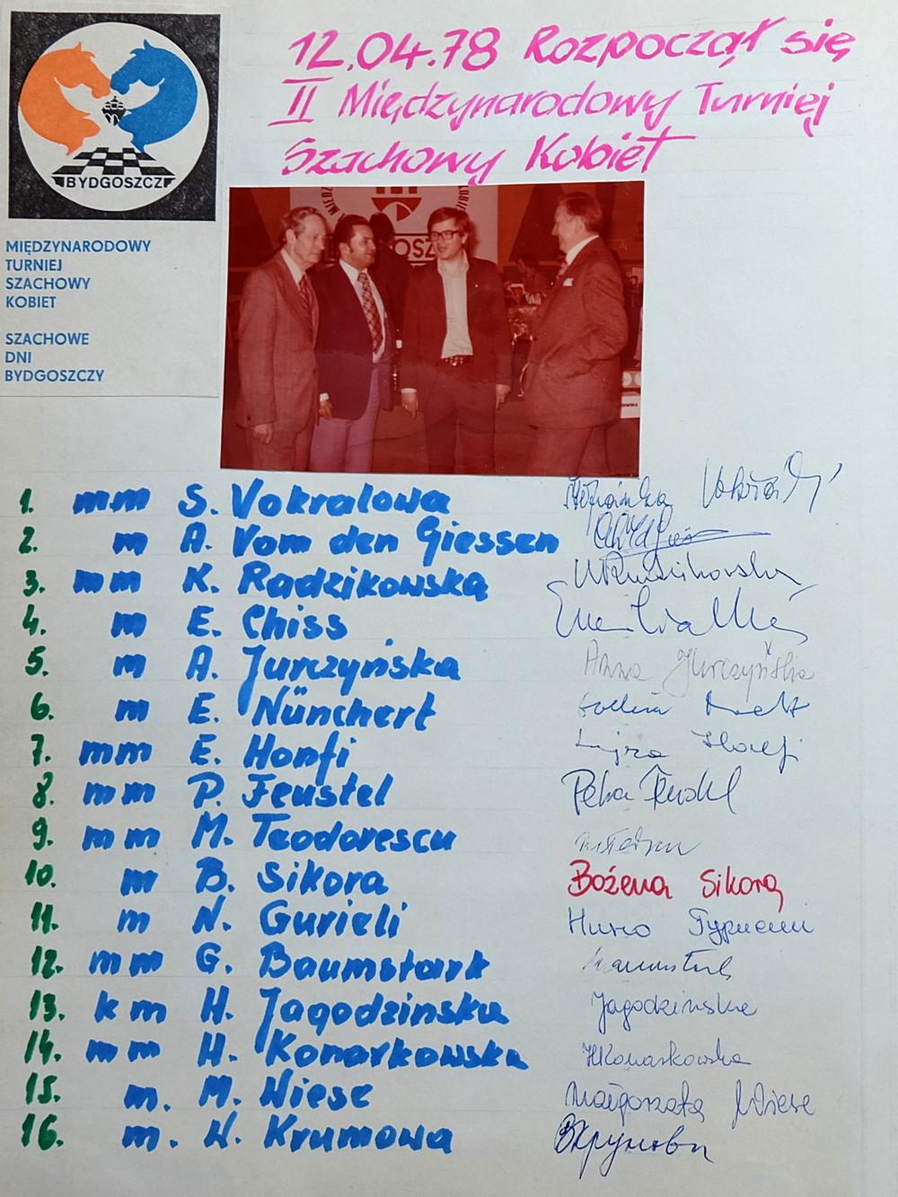 Szachowe Dni Bydgoszczy 1978